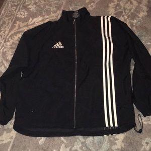 Adidas black 3Stripes Jacket